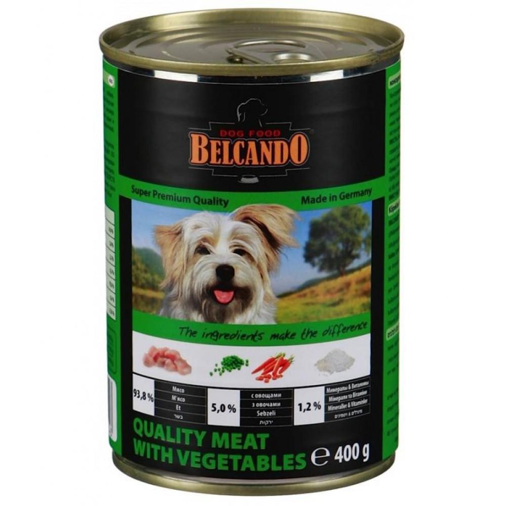 Belcando (Белькандо) Консервы для собак с мясом и овощами