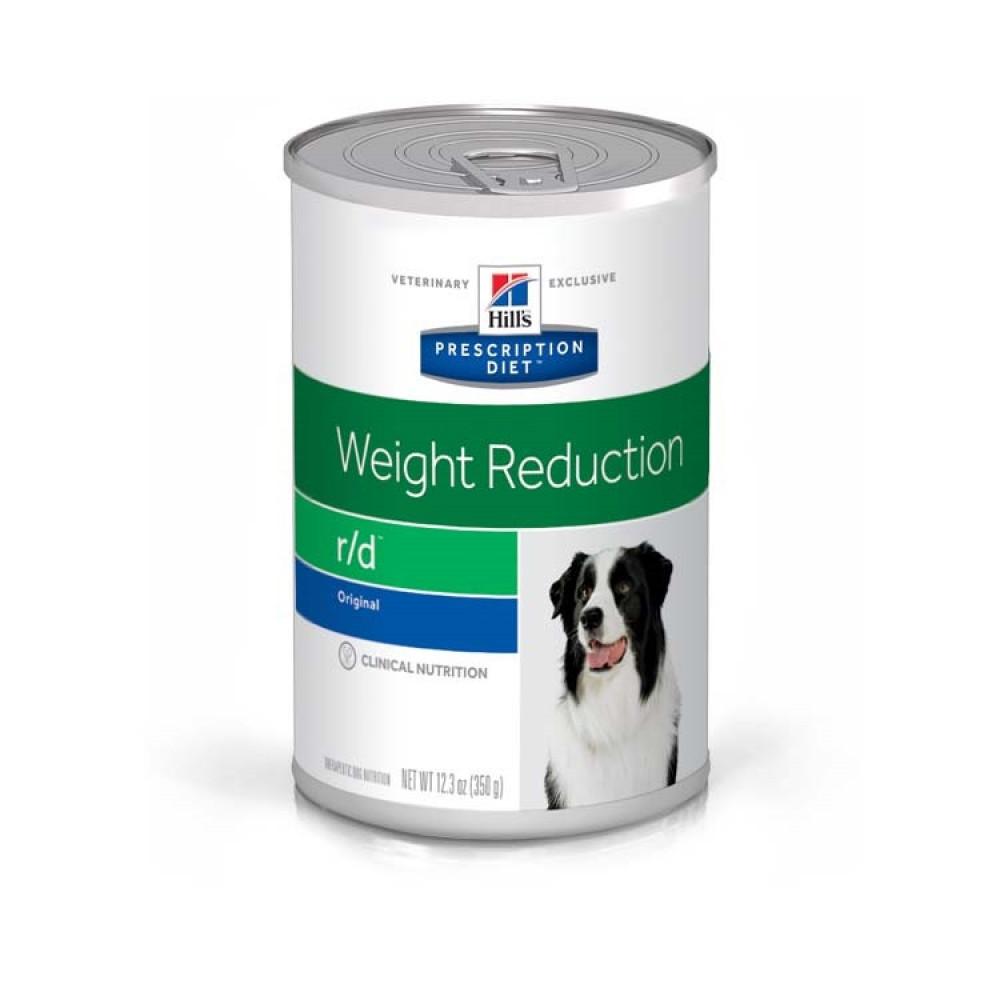Лечебные консервы Хиллс для собак Hill's Prescription Diet r/d ожирение, снижение веса