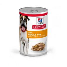 Консервы Хиллс для взрослых собак Hill's Adult Light от лишнего веса