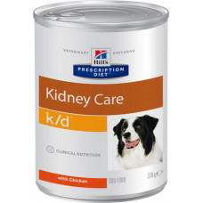 Лечебные консервы Хиллс для собак Hill's Prescription Diet k/d заболевания почек, сердечная недостаточность