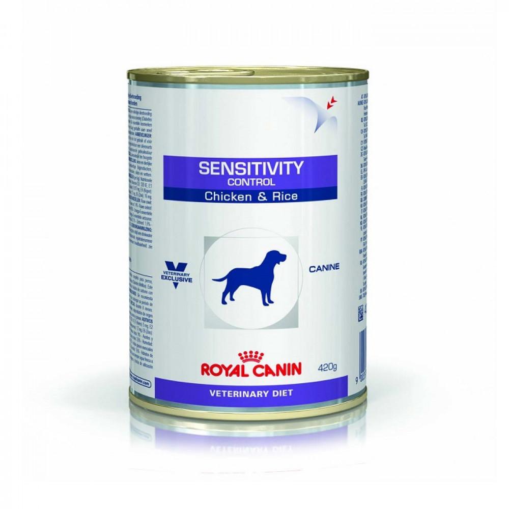 Лечебные консервы для собак Royal Canin (Роял Канин) Sensitivy с курицей