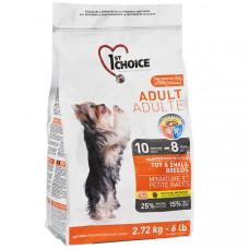 Корм 1st Choice (Фест Чойс) корм для взрослых собак мелких пород с курицей 7 кг