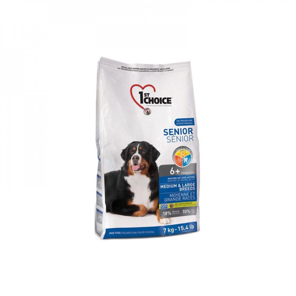 1st Choice (Фест Чойс) корм для пожилых собак средних и крупных пород с курицей