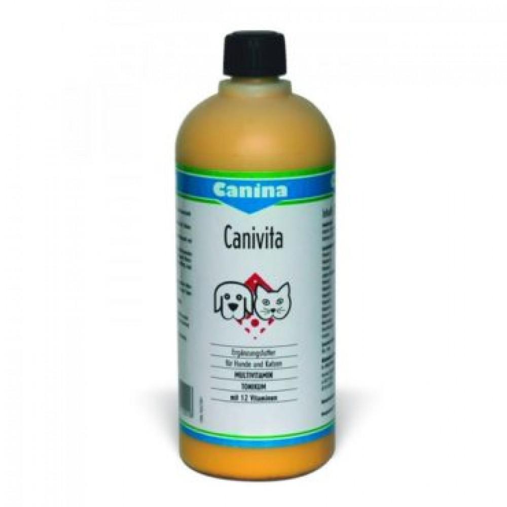 Canina Canivita эмульгированный витаминный тоник для собак 100 мл
