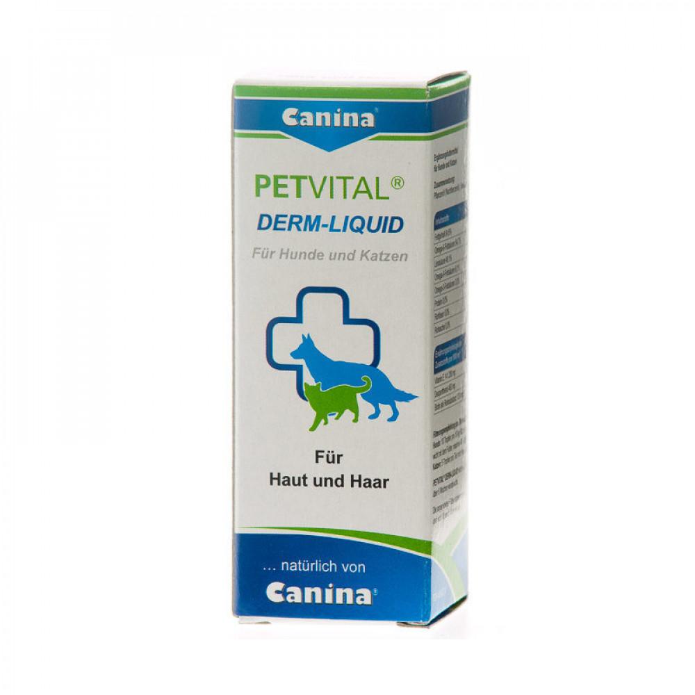 Витамины для собак и кошек Canina PETVITAL Derm-Liquid 25 мл