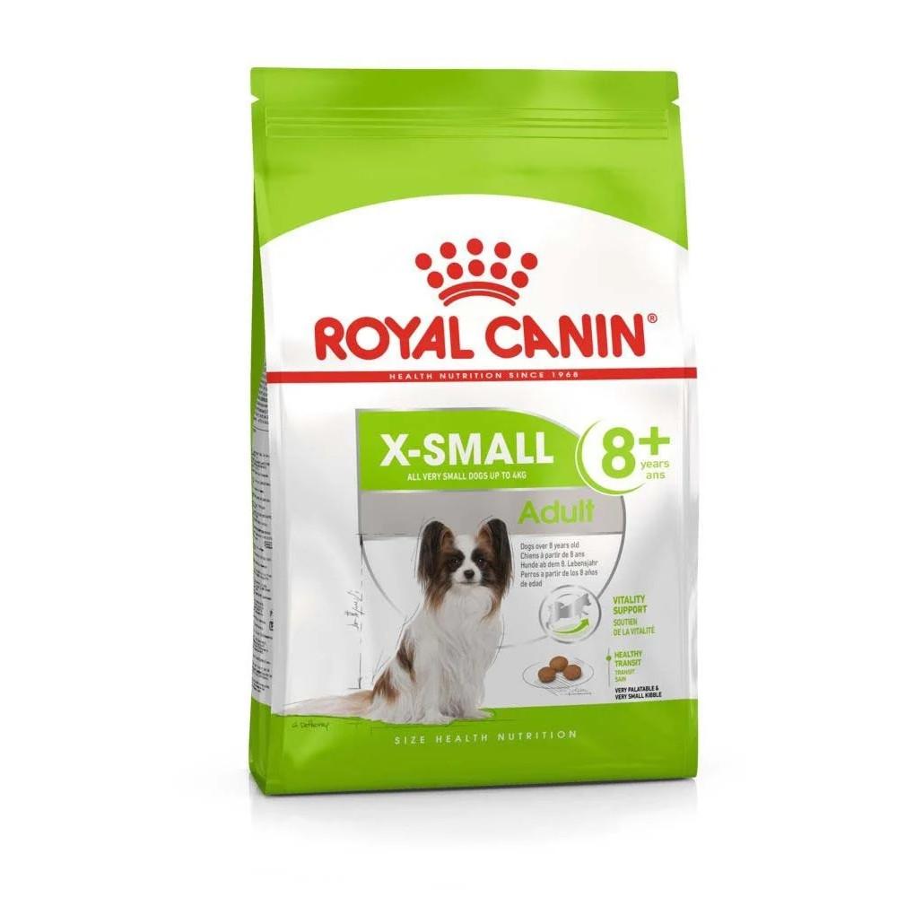 Royal Canin X Small Adult 8+ корм для пожилых собак миниатюрных пород 1.5 кг