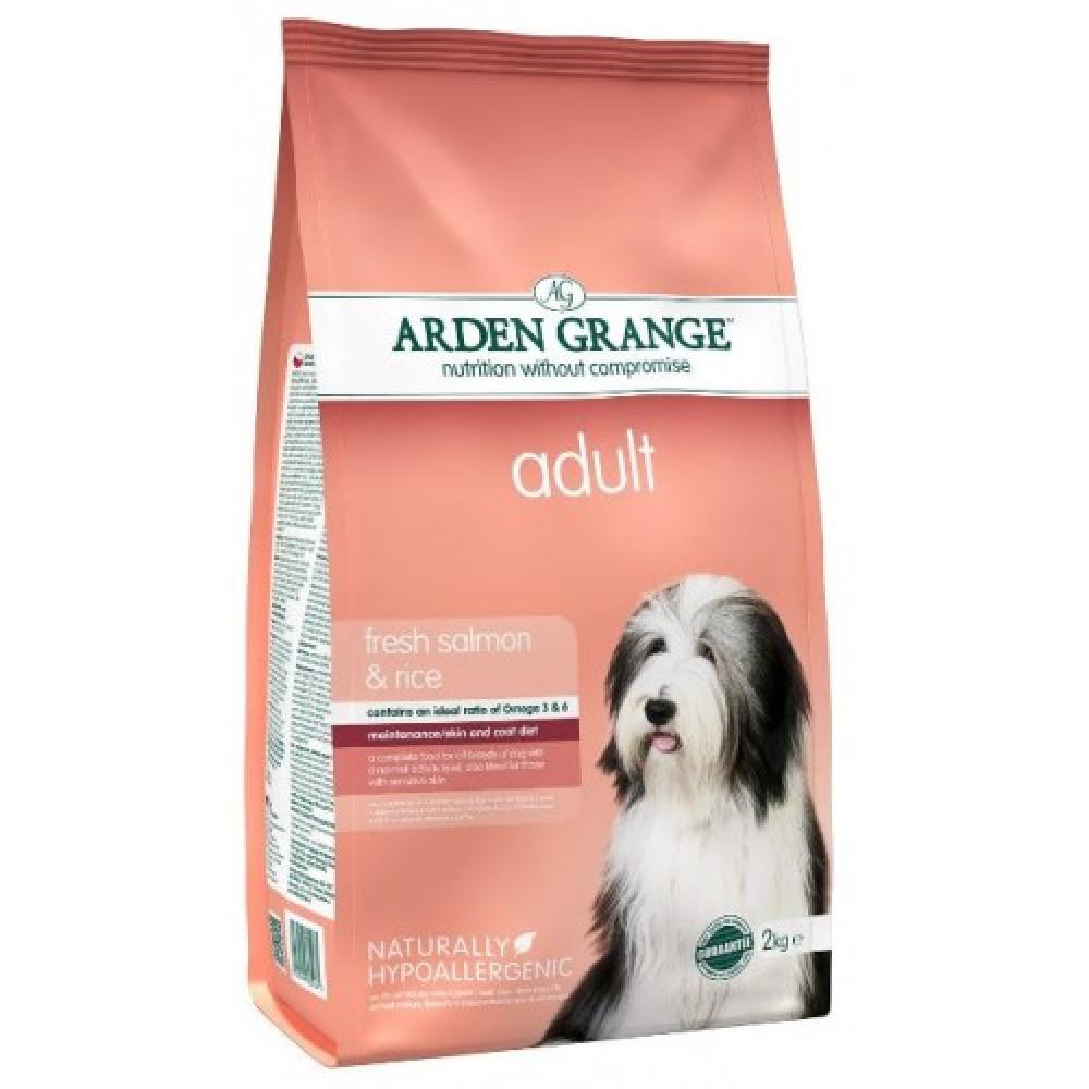Arden Grange Salmon Корм для собак с лососем и рисом 12 кг