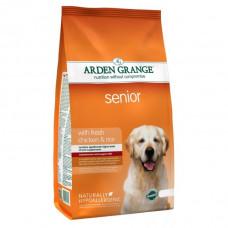 Arden Grange Senior Корм для пожилых собак с курицей 12 кг