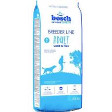 Корм Bosch (Бош) Breeder Lamb Rice для собак с ягненком 20 кг