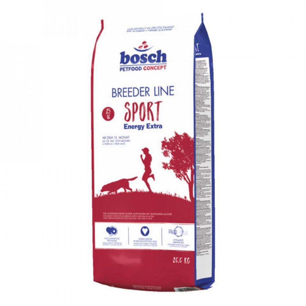 Корм Bosch (Бош) Breeder Sport для активных собак 20 кг