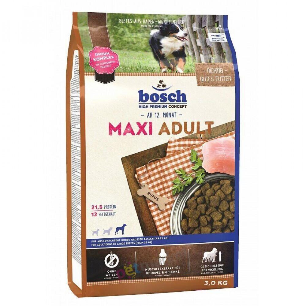 Корм Bosch (Бош) для собак крупных пород с птицей 15 кг