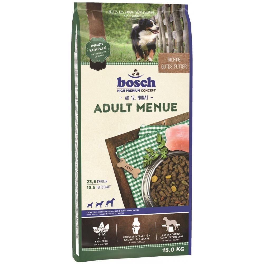 Корм Bosch (Бош) Menu для собак с птицей и просо 15 кг