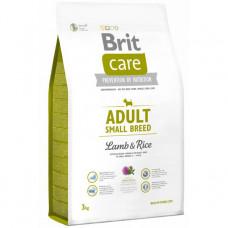 Brit Care Adult Small Breed Lamb, Rice – Брит Кеа Корм для собак мелких пород с ягненком и рисом