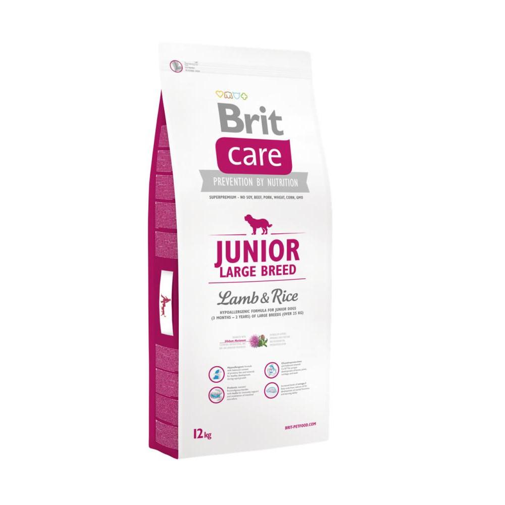Brit Care Junior Large Breed Lamb – Брит Каре для щенков крупных пород с ягненком 12 кг