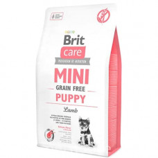 Brit Care Mini Puppy Lamb Беззерновой корм с ягненком для щенков малых пород 7 кг