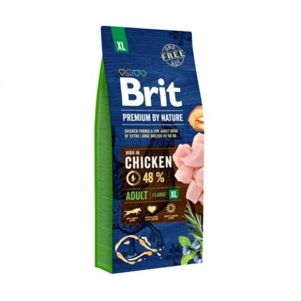 Brit Premium Adult XL Корм для собак гигантских пород 15 кг
