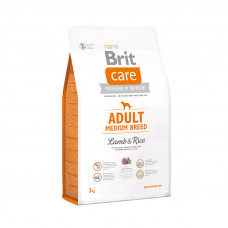Brit Care Adult Medium Breed Lamb, Rice – Брит Кеа корм для собак средних пород с ягненком