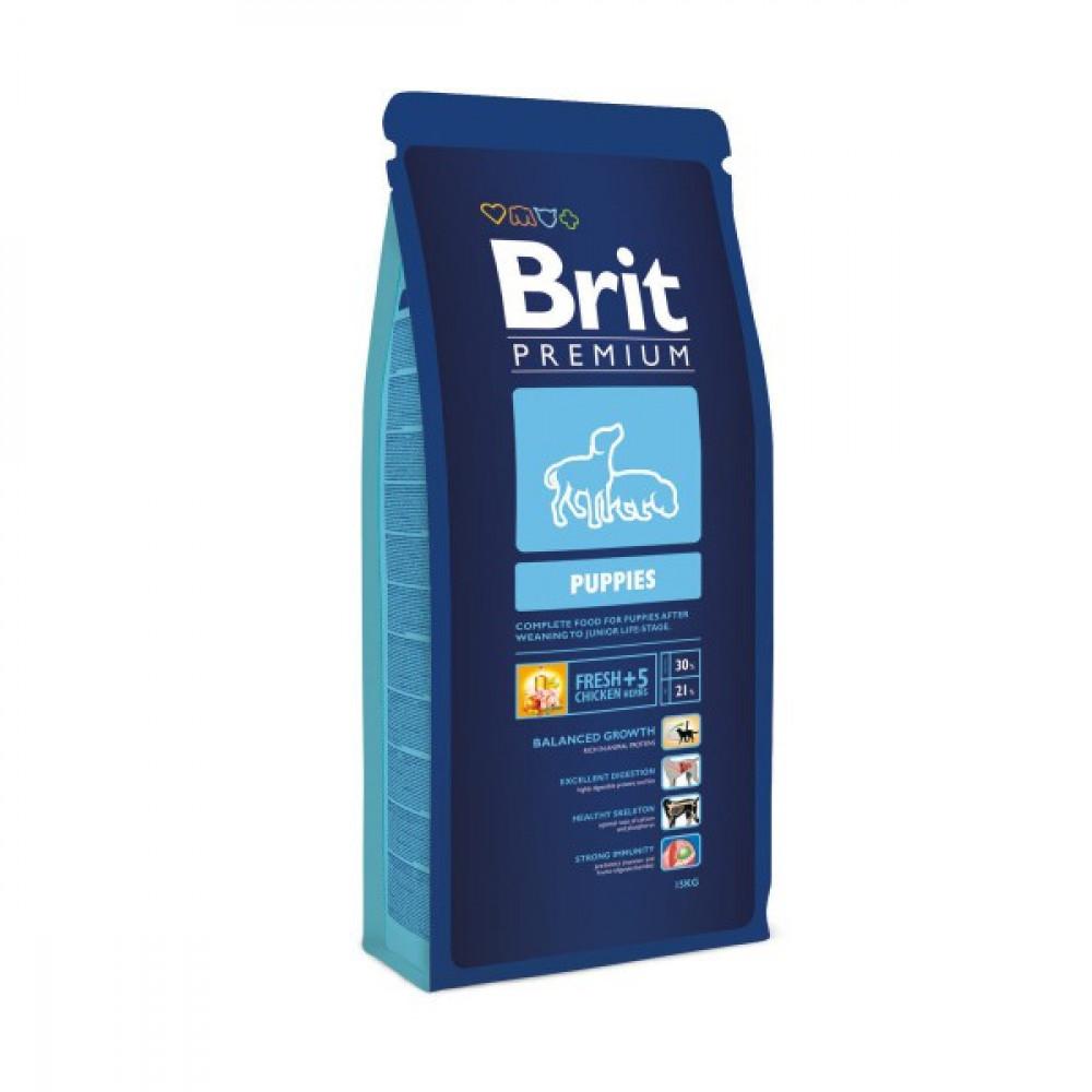 Brit Premium Puppy Сухой корм для щенков 15 кг