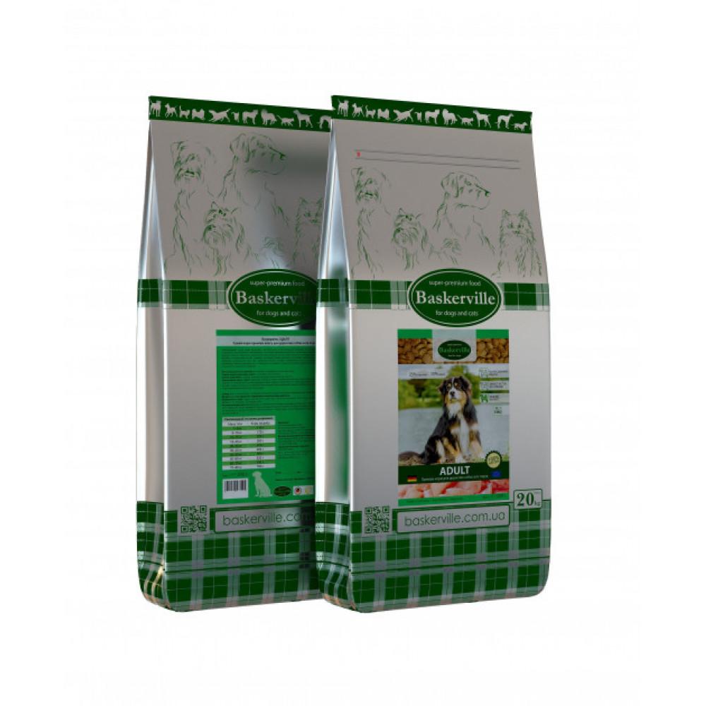 Сухой корм для взрослых собак Baskerville Adult 20кг