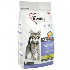 1st Choice (Фест Чойс) Kitten корм для котят с курицей 10 кг