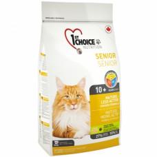 1st Choice (Фест Чойс) корм для пожилых котов с курицей 5.44 кг