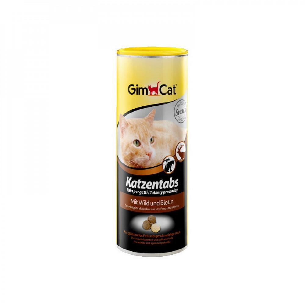 Витамины Джимпет для кошек с дичью Gimpet Katzentabs 710 шт