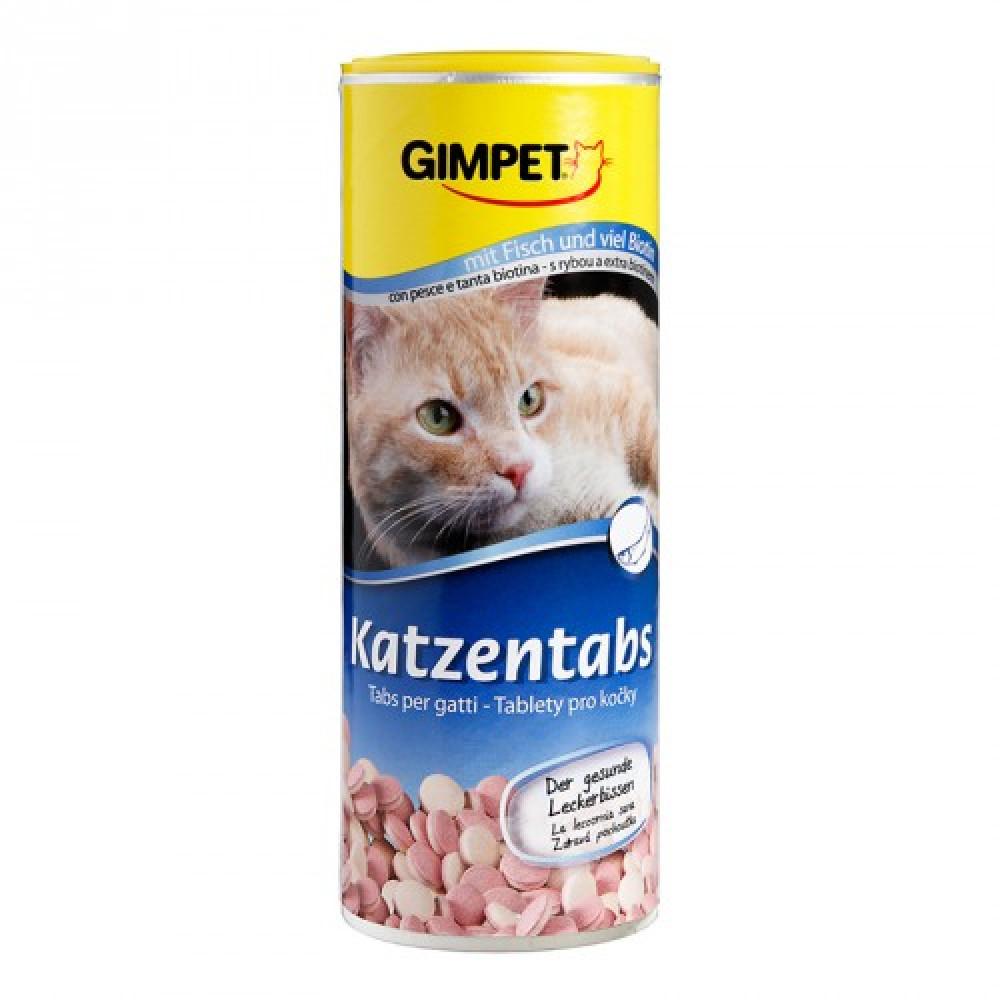 Витамины Джимпет для кошек с рыбой Gimpet Katzentabs 710 шт