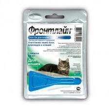 Капли Frontline (Фронтлайн) Спот Он для кошек от блох и клещей