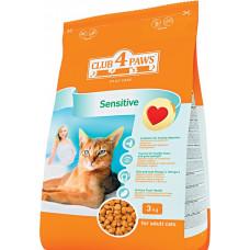 Корм для кошек «Клуб 4 Лапы» с чувствительным пищеварением