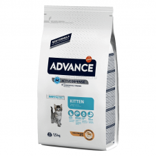 Advance (Эдванс) Kitten Chicken & Rice корм для котят с курицей 10 кг