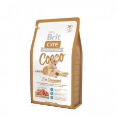 Brit Care COCCO Gourmand Гипоаллергенный корм для кошек с уткой и лососем