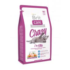 Brit Care CRAZY KITTEN Сухой корм для котят от 1 до 12 месяцев