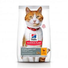 Хиллс для стерилизованных кошек Hill's Science Plan Sterilised Cat Курица
