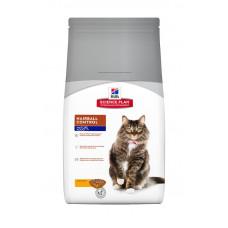 Корм Хиллс для пожилых кошек Hill's Science Plan Feline Mature Adult 7+ Hairball Control Chicken 1.5 кг