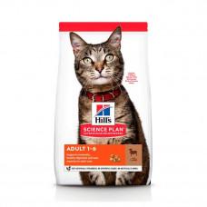 Корм Хиллс для кошек с ягненком Hill's Science Plan Feline Adult Lamb&Rice