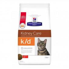Лечебный корм Хиллс для кошек – Hill's Prescription Diet Feline k/d для почек