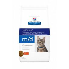 Лечебный корм Хиллс для кошек – Hill's Prescription Diet Feline m/d при диабете