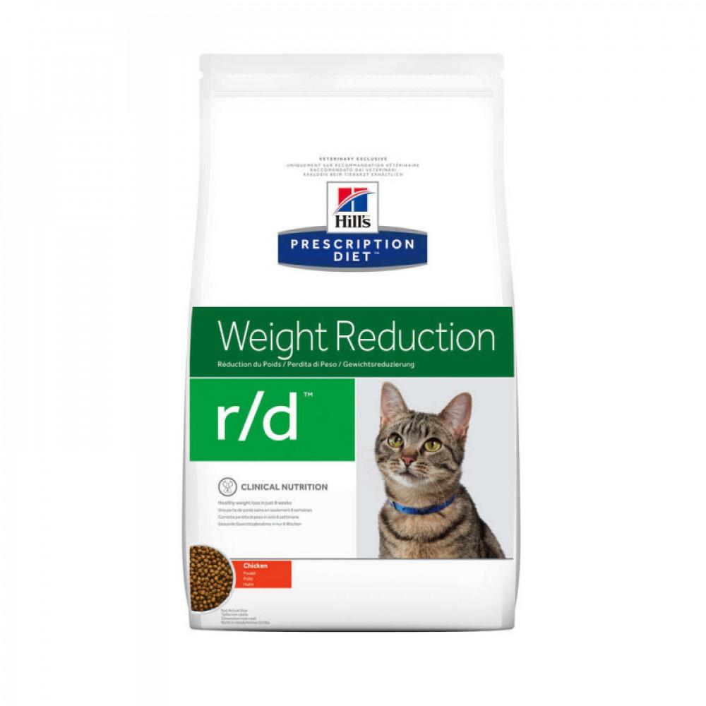 Лечебный корм Хиллс для кошек – Hill's Prescription Diet Feline r/d при диабете и ожирении
