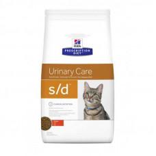 Лечебный корм Хиллс для кошек – Hill's Prescription Diet Feline s/d лечение мочекаменной болезни