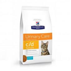 Лечебный корм Хиллс для кошек – Hill's Prescription Diet Feline c/d Multicare мочекаменная болезнь (океаническая рыба)