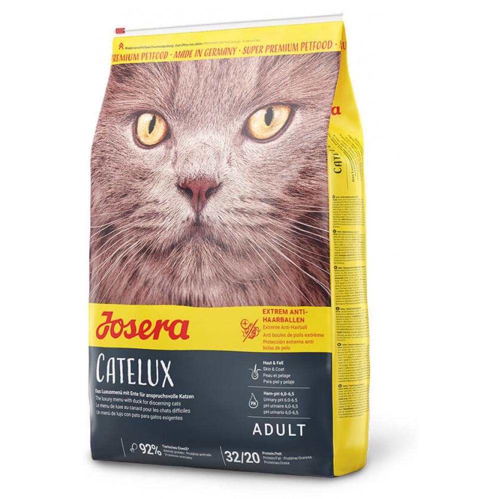 Josera (Йозера) Catelux корм для котов с выведением шерсти 10 кг