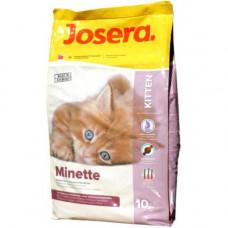 Josera (Йозера) Minette корм для котят с уткой 10 кг