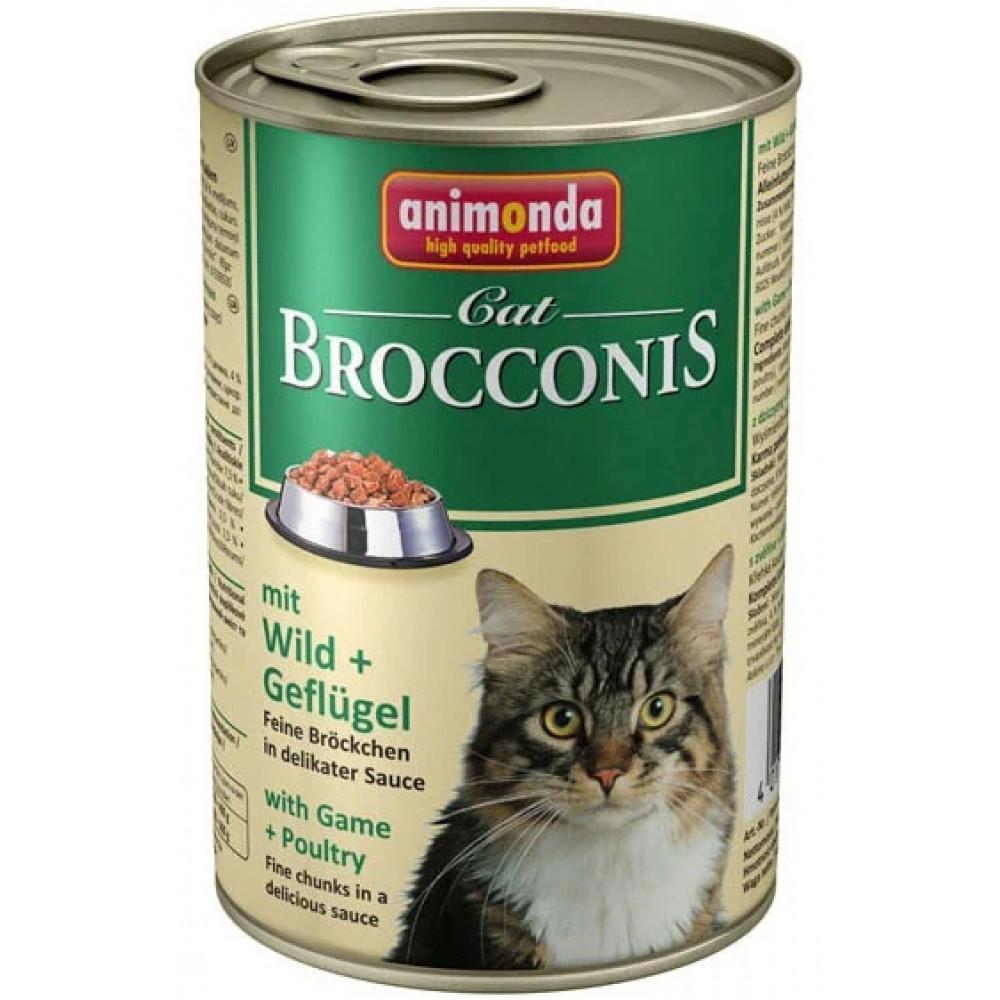Animonda Brocconis Cat Консервы для кошек с дичью и домашней птицей 0.4 кг
