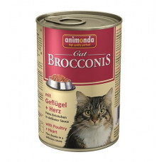 Animonda Brocconis Cat Консервы для кошек с домашней птицей и сердцем 0.4 кг