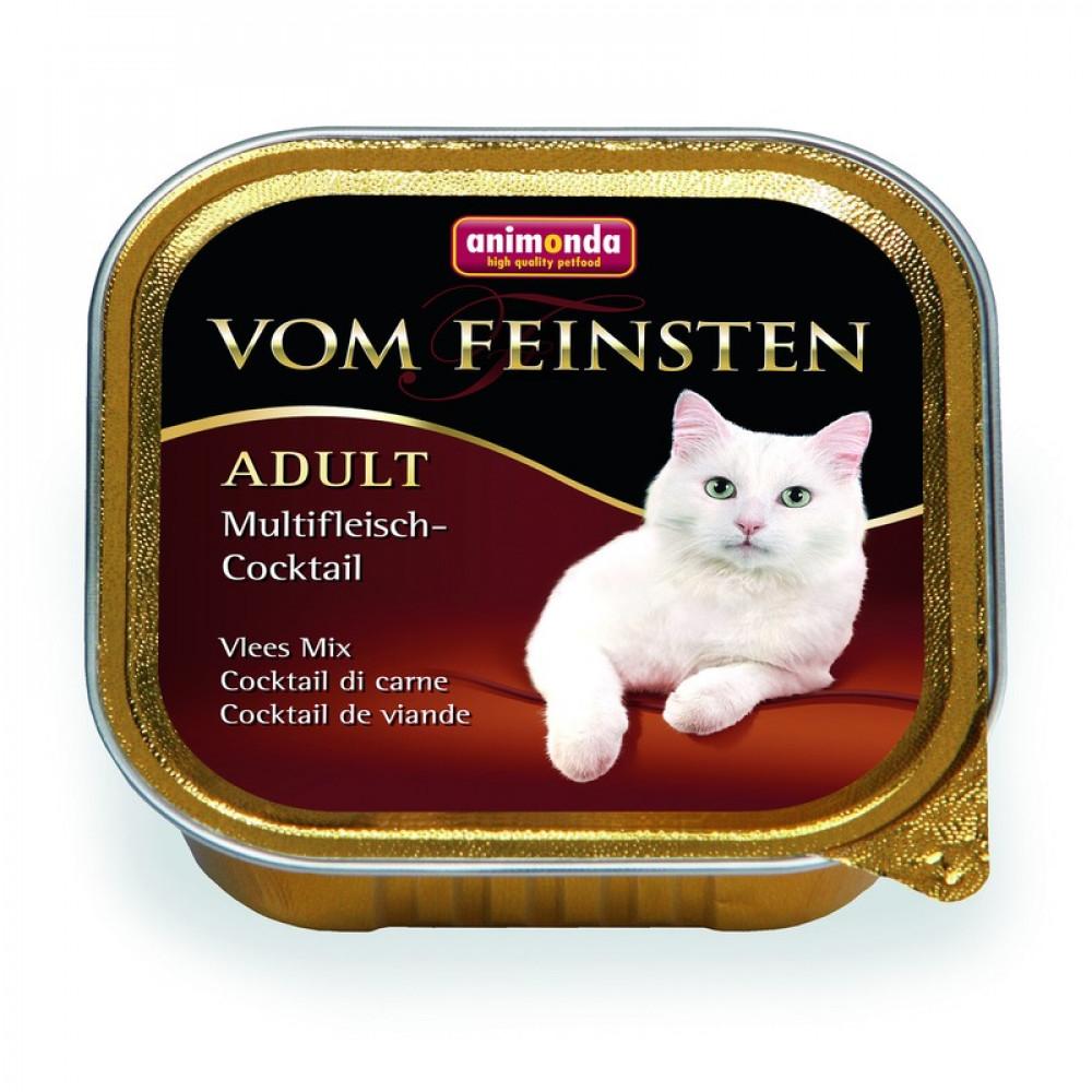 Animonda для кошек консервы Vom Feinsten Adult мясной коктейль