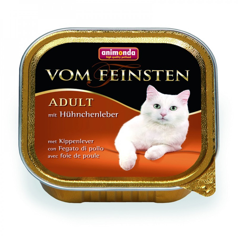 Animonda для кошек консервы Vom Feinsten Adult с куриной печенью