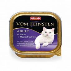 Animonda для кошек консервы Vom Feinsten Adult с курицей и морепродуктами
