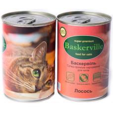 Консервированный корм для кошек Baskerville лосось