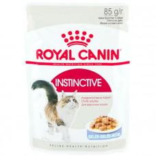 Royal Canin Instinctive консервы для кошек Роял Канин в желе
