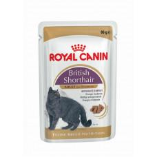 Консервы для британцев Роял Канин – Royal Canin British Shorthair (кусочки в соусе)